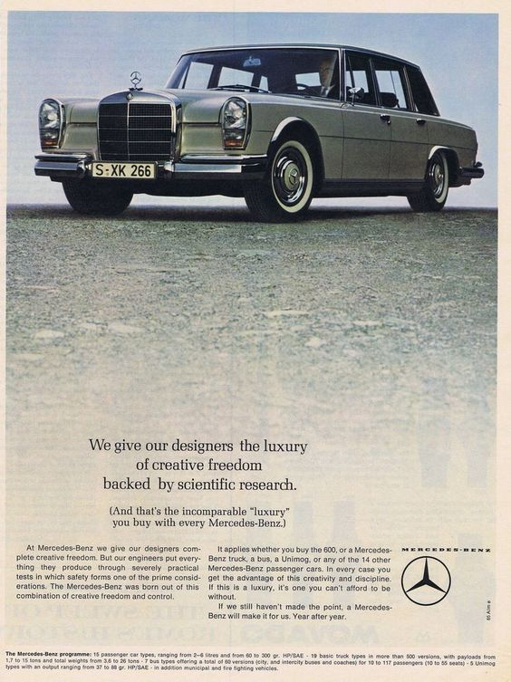 W100 Mercedes Benz 600 Limousine The Best Or Nothing The