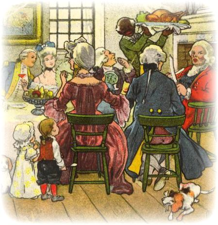 Victorian Thanksgiving Clip Art | Vintage Thanksgiving Clip Art ...