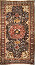 the Rothschild TABRIZ medallion carpet - Tabriz, northwest Persia 16th century - Jul 1999, London, world auction record for an oriental carpet!