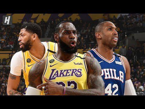 Philadelphia 76ers Vs Los Angeles Lakers Full Game Highlights March 3 2020 2019 20 Nba Season In 2020 Nba Season Los Angeles Lakers Philadelphia 76ers