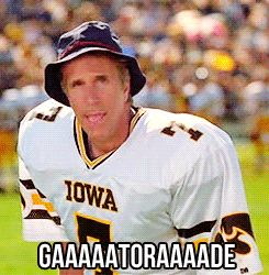 The Waterboy..... and the Iowa Hawkeyes. ) LOL