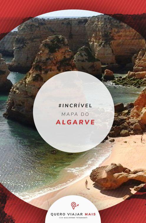 Mapa Do Algarve Portugal 5 Cidades Mais Bonitas Da Regiao