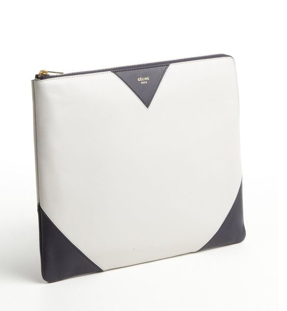 CELINE Cloud Leather IPad Clutch | BAGS | Pinterest | Celine ...