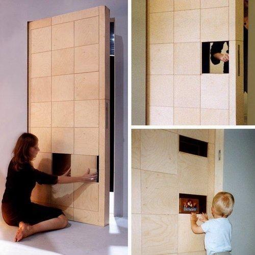 Interior doors door design and interiors on pinterest - Cool interior doors for home ...