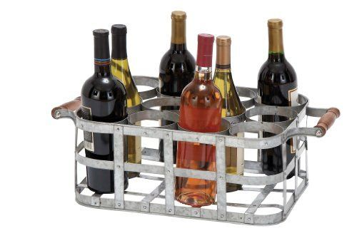 12 Bottle Tabletop Metal Wine Rack Http://www.amazon.com