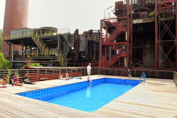 Schwimmbad Kokerei Zollverein