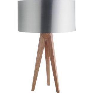Buy habitat tripod table lamp base ash at for Table lamps argos