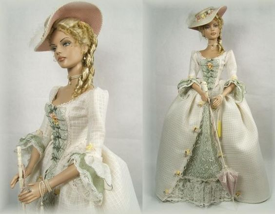 Enchanted Serenity of Period Films: Crawford Manor - Custom made Dolls: