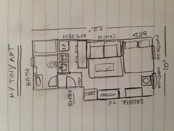 Espaço pequeno de Alexandre, grandes desafios - Pequeno Concurso fresco | Apartment Therapy