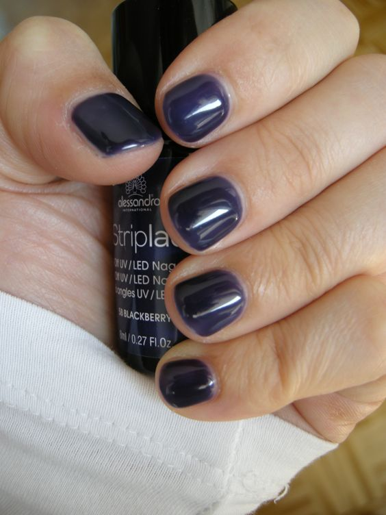 Striplac 58 Blackberry (2 coats) #striplac