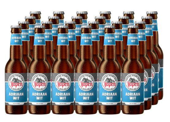 Bia Jopen Adriaan Wit 5% - Chai 330ml - Bia Nhập Khẩu
