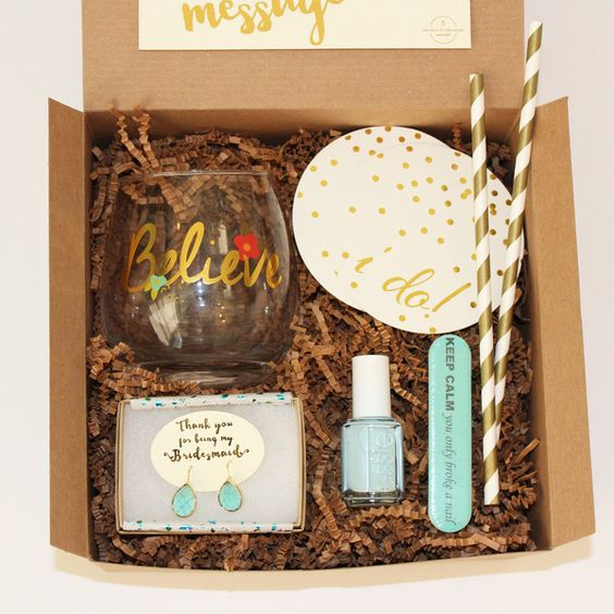 curated gift boxes specialized in making the wedding experience ...