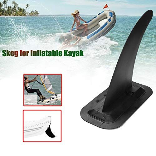 Durable Large Kayak Skeg Dinghy Canoe Tracking Fin Water Sports Accessories