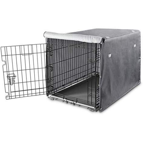 Medium 31 You Me Dog Crate Cover In Grey Petco Free Ship Over 49 Crate Cover Dog Crate Cover Dog Crate