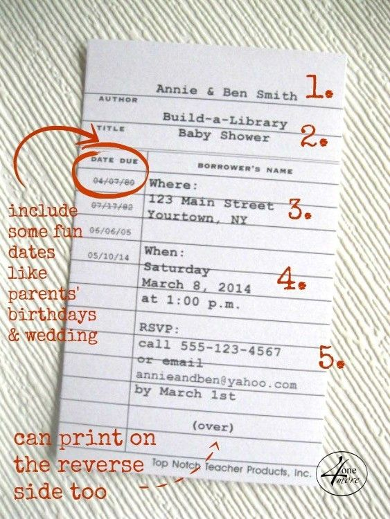 13 Awesome Library Card Birthday Invitations Photograph Library