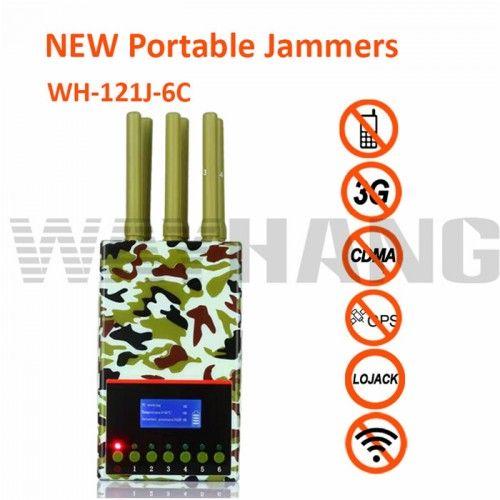 The Latest 12 Antennas Plus Portable Mobile Phone Signal Jammer In 2020 Mobile Phone Jammer Signal Jammer Mobile Phone
