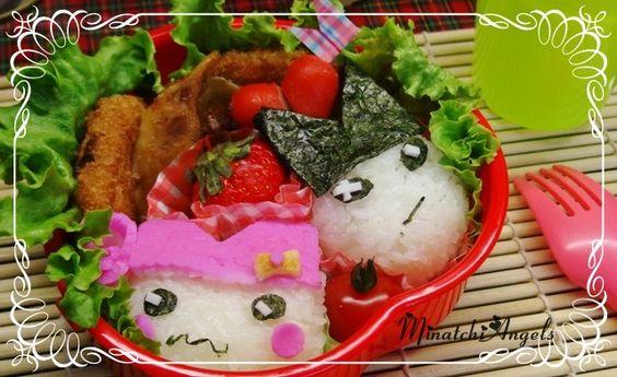 Tamagotchi Character's  http://cookingcharacterbento.blogspot.com  http://www.facebook.com/MinatchiAngels