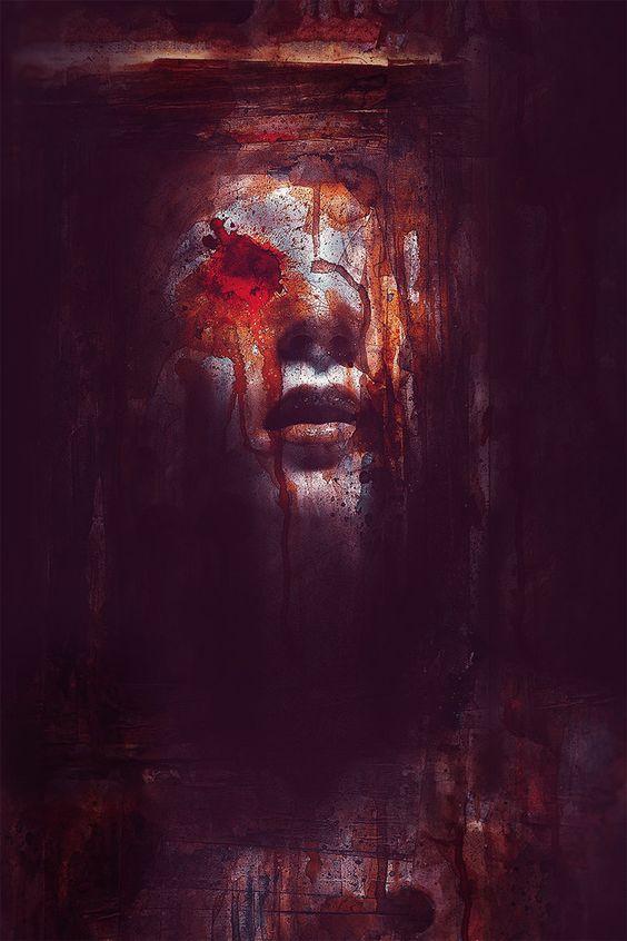 """Selling Soul"" by eikoweb at Deviantart  #deviantart #horror #fantasyart"
