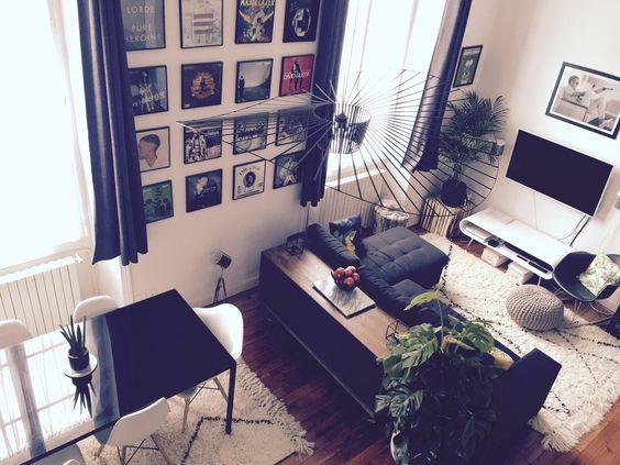 Home sweet home! Inspiration séjour #mezzanine #inspiration #décoration #déco #roomtour #inspi #deco #bois #vertigo #tendance