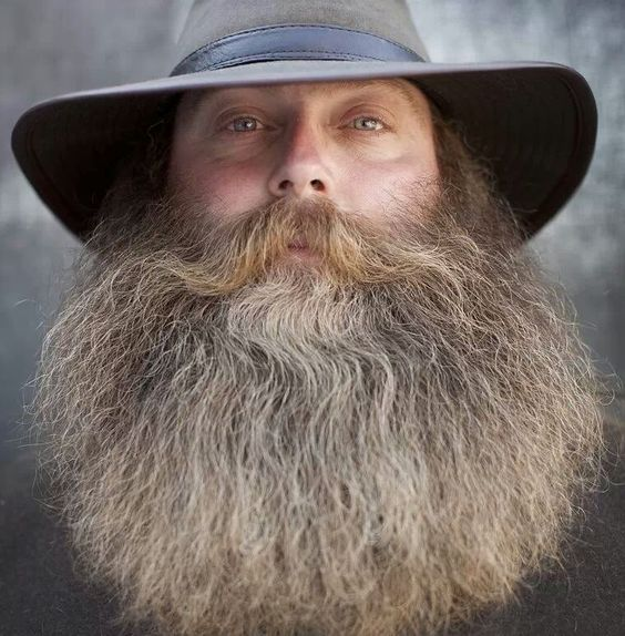 Beards And Mustaches: FLICKR-BEARD-POWER: Photo....Great Beard Not Just Long But