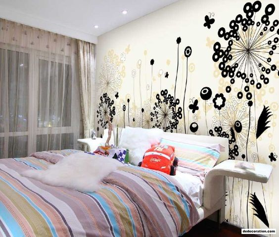 Normal Bedroom Wall Style Tips Innovative With Stunning ...