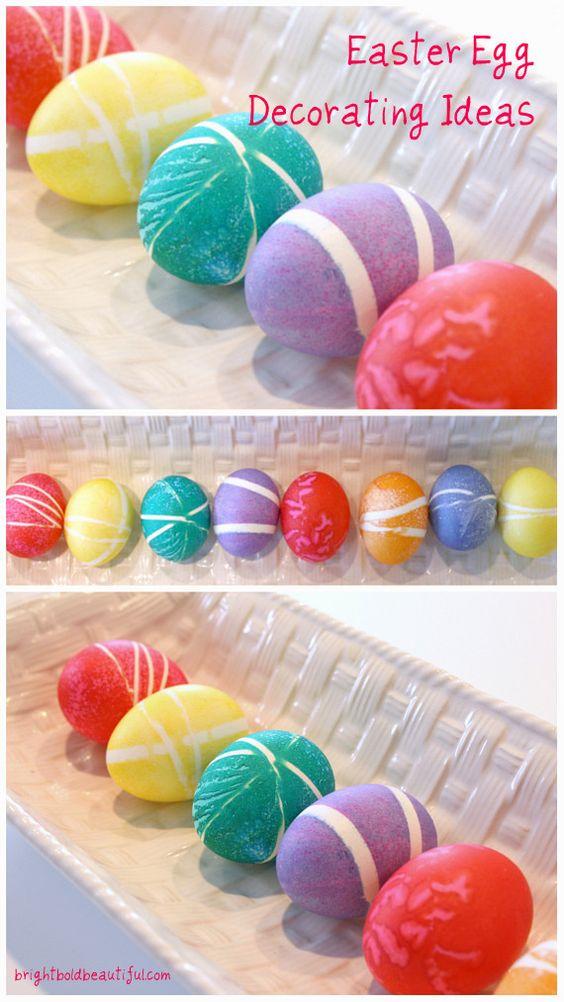 Easter Egg Decorating Ideas Easter Crafts Holiday Diy