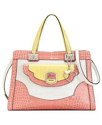 GUESS Handbag, Newlyn Small Satchel - Satchels - Handbags & Accessories - Macy's