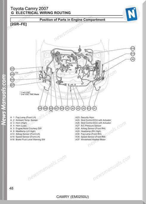 [CSDW_4250]   Electrical Wiring Routing Of Toyota Camry 2007 | Camry 2007, Toyota camry,  Camry | 2007 Toyota Camry Engine Diagram Sensors |  | Pinterest