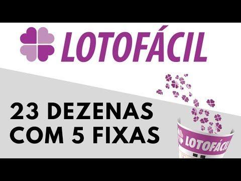 Planilha Gratis Lotofacil 23 Dezenas Com 5 Fixas 100 14
