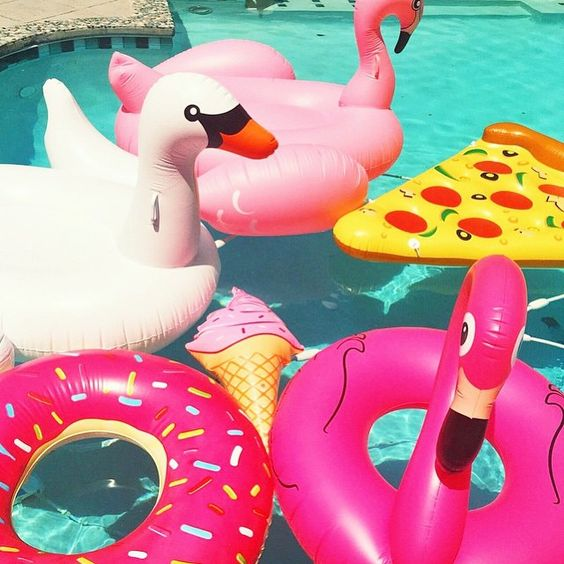 bright pool floats: