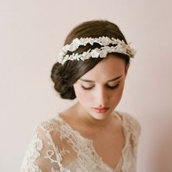 headpieces from Twigs & Honey