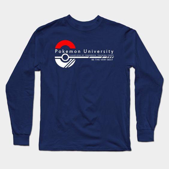 Pokemon University - College Wear Long Sleeve T-Shirt