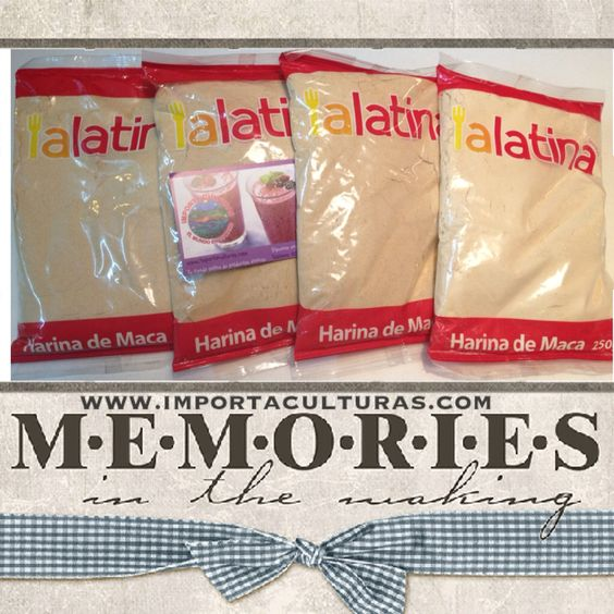 Harina de maca para Sant Feliu de guixols, Girona! #productoslatinos #importaculturas #latinos #girona