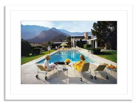 """""""Poolside Glamour"""" Photograph by Slim Aarons on Chairish.com"""