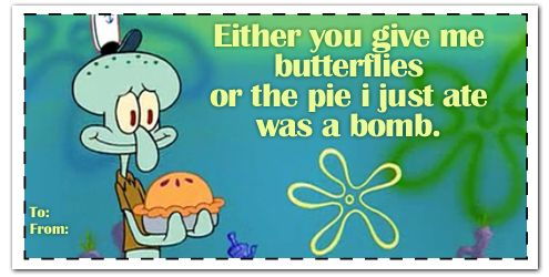 spongebob valentines day tumblr cards valentines day pinterest spongebob valentines