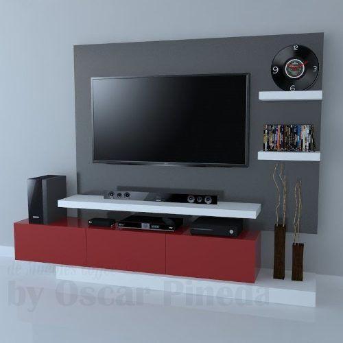 Mueble De Tv Ref Artaban De 170 Cm En Madera Lacada 729 000 En Mercado Libre Muebles Para Tv Muebles Muebles Para Tv Modernos