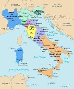 Mappa Dell Italia Wikipedia.Italia 1843 Italia Wikipedia Mappa Dell Italia Mappe Antiche Risorgimento