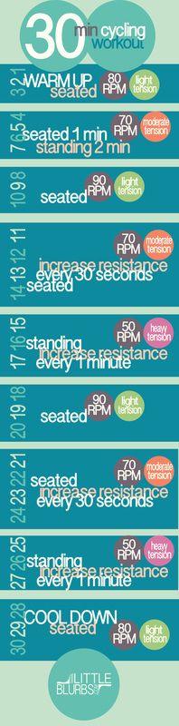 30 Minute Spin Routine: www.LittleBlurbs.com