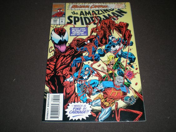Amazing Spider-Man 380 (1993), Marvel  C05 by HeroesRealm on Etsy