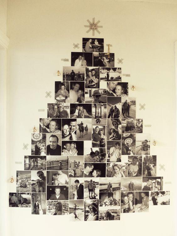 25 Clásico De Navidad De Pared De Árboles Para Copiar Ahora Mismo