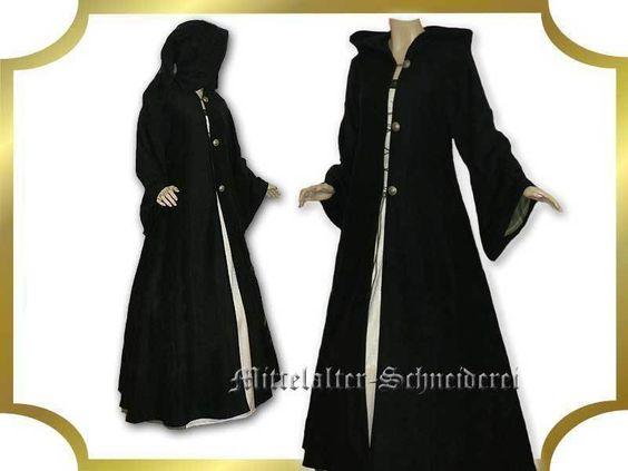 Lange Mäntel - Mittelalter Mantel Anfertigung Polarfleece S-XXL - ein Designerstück von Mittelalter-Gewandungen bei DaWanda