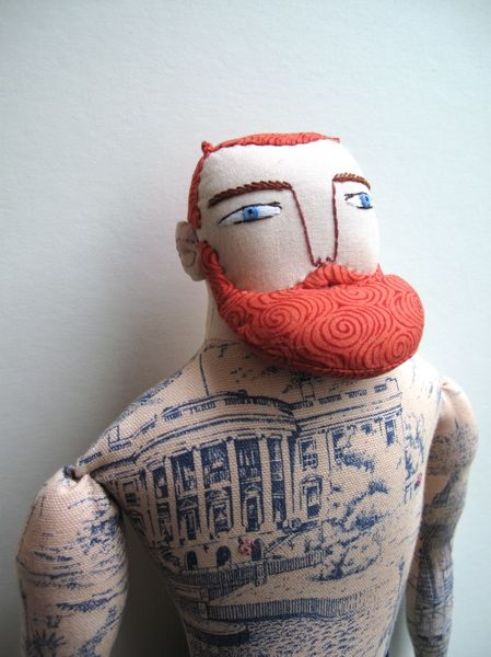 Pinterest the world s catalog of ideas for Red beard tattoo