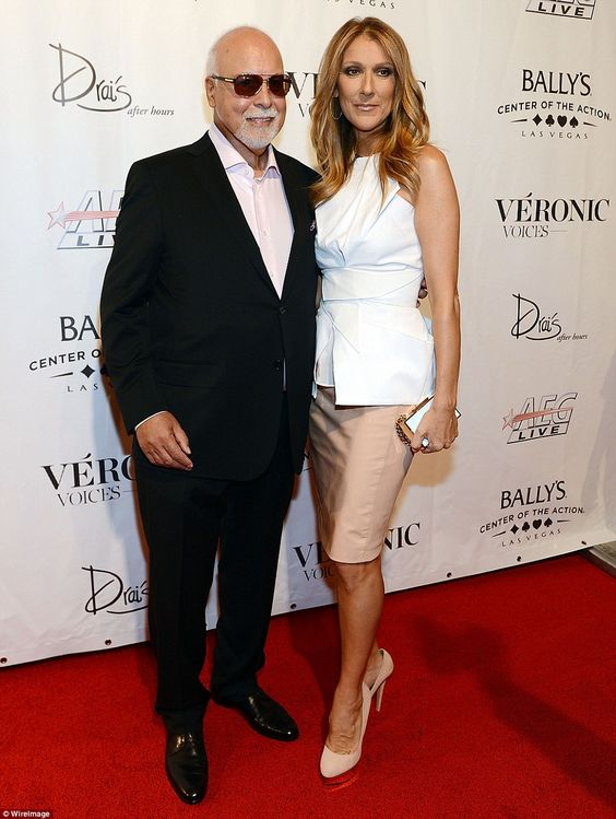 They were devoted to each other: The couple together on the red carpet at the Veronic Voic...