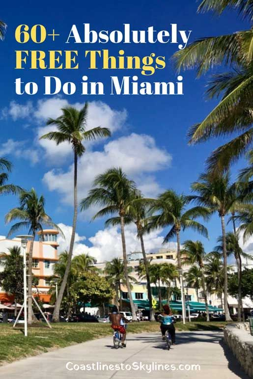 60 Free Things To Do In Miami That Won T Cost You A Thing Coastlines To Skylines Free Things To Do Miami Attractions Miami Travel