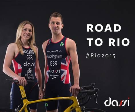 #teamdassi on the road to Rio