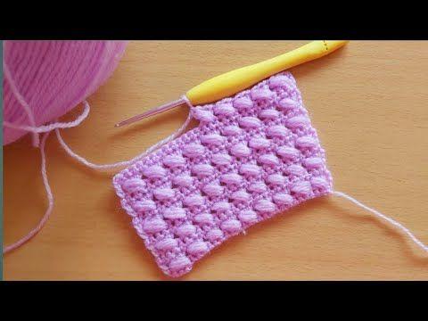 كروشيه غرزة شتوية سهلة جدا لأعمال الكروشيه الشتوية غرز كروشيه شتوي2021 Youtube Crochet Stitches Rose Gold Wallpaper Crochet