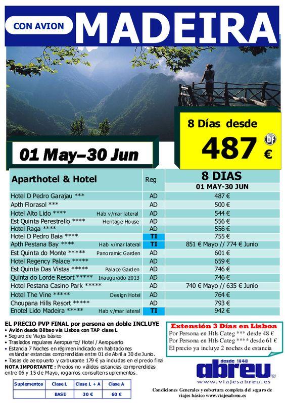 MADEIRA desde Bilbao 01 May a 30 Jun busca y compara - http://zocotours.com/madeira-desde-bilbao-01-may-a-30-jun-busca-y-compara-2/