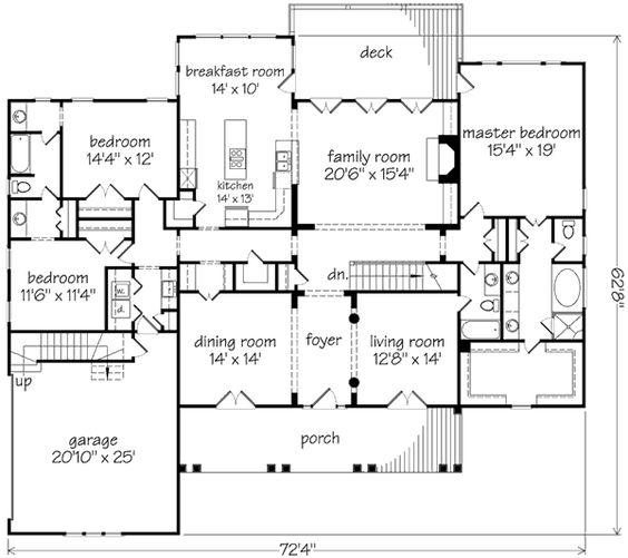coopers bluff formal living formal dining family room split floor plan