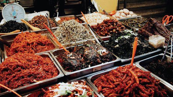 Thiên đường ẩm thực truyền thống tại chợ Gwangjang