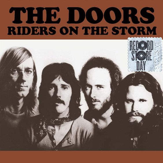 The Doors – Riders on the Storm (single cover art)
